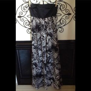 Nwot Karen Millen Silk Dress 6 Strapless W/ Strap